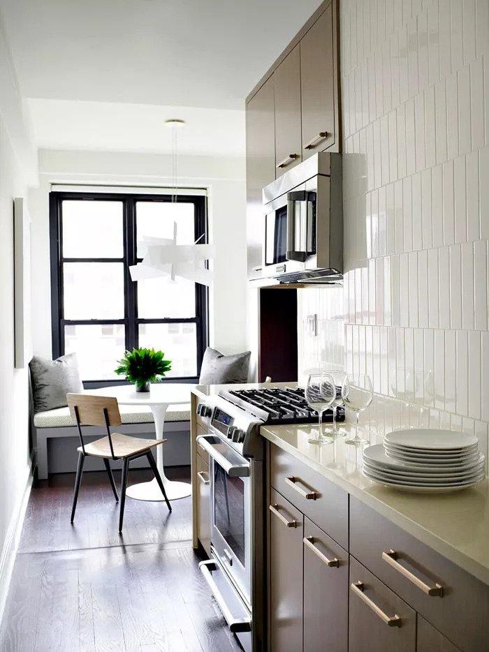 ۱۸ آشپزخانه کوچک و مدرن برای آپارتمان های کوچک